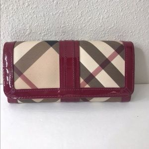 Burberry Supernova check Wallet